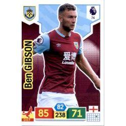 Ben Gibson Burnley 74 Adrenalyn XL Premier League 2019-20