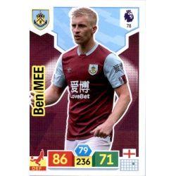 Ben Mee Burnley 78 Adrenalyn XL Premier League 2019-20