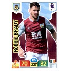 Robbie Brady Burnley 81 Adrenalyn XL Premier League 2019-20