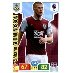 Jóhann Berg Gudmundsson Burnley 84 Adrenalyn XL Premier League 2019-20