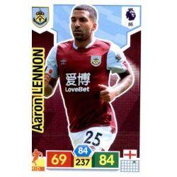 Aaron Lennon Burnley 86 Adrenalyn XL Premier League 2019-20
