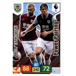 Ben Mee - James Tarkowski Burnley 90 Adrenalyn XL Premier League 2019-20