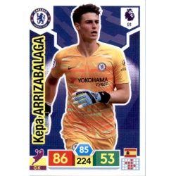 Kepa Arrizabalaga Chelsea 91 Adrenalyn XL Premier League 2019-20
