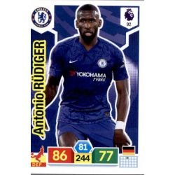 Antonio Rüdiger Chelsea 92 Adrenalyn XL Premier League 2019-20
