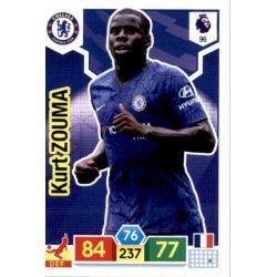 Kurt Zouma Chelsea 96 Adrenalyn XL Premier League 2019-20