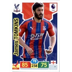 James Tomkins Crystal Palace 112 Adrenalyn XL Premier League 2019-20