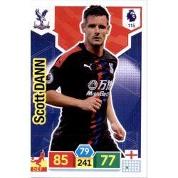Scott Dann Crystal Palace 115 Adrenalyn XL Premier League 2019-20
