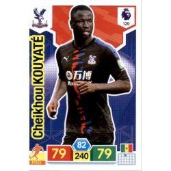 Cheikhou Kouyaté Crystal Palace 120 Adrenalyn XL Premier League 2019-20