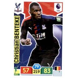Christian Benteke Crystal Palace 123 Adrenalyn XL Premier League 2019-20