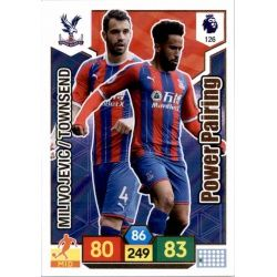 Luka Milivojević - Andros Townsend Crystal Palace 126 Adrenalyn XL Premier League 2019-20