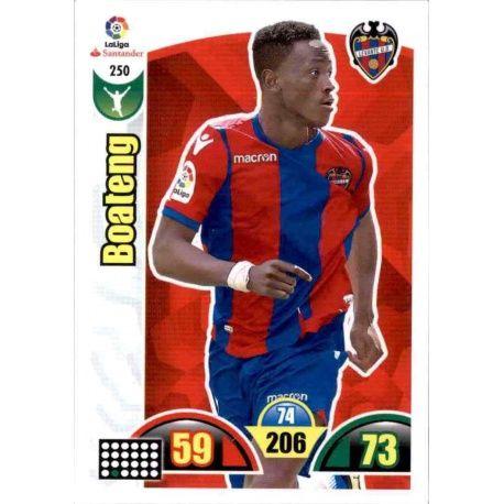 Boateng Levante 250 Cards Básicas 2017-18