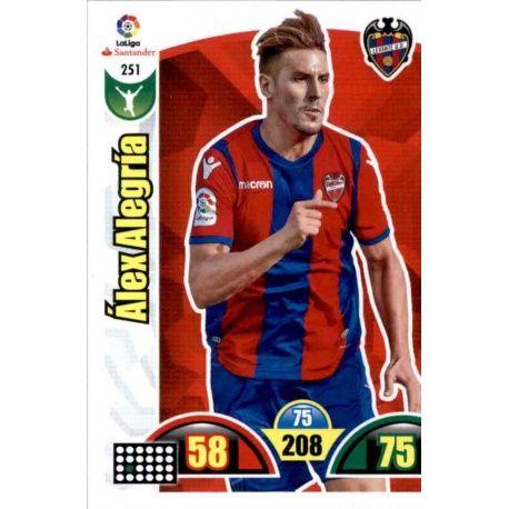 Alex Alegría Levante 251 Cards Básicas 2017-18
