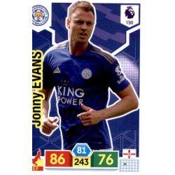 Jonny Evans Leicester City 150 Adrenalyn XL Premier League 2019-20