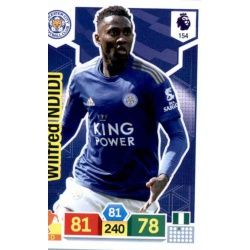 Wilfred Ndidi Leicester City 154 Adrenalyn XL Premier League 2019-20
