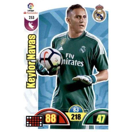Keylor Navas Real Madrid 253 Cards Básicas 2017-18