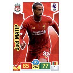 Joël Matip Liverpool 167 Adrenalyn XL Premier League 2019-20