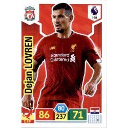 Dejan Lovren Liverpool 169 Adrenalyn XL Premier League 2019-20