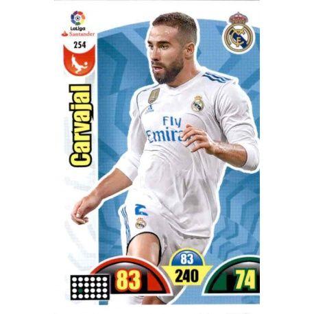 Carvajal Real Madrid 254 Cards Básicas 2017-18