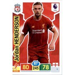 Jordan Henderson Liverpool 172 Adrenalyn XL Premier League 2019-20