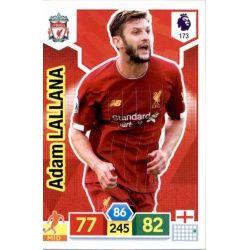 Adam Lallana Liverpool 173 Adrenalyn XL Premier League 2019-20