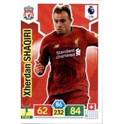 Xherdan Shaqiri Liverpool 179 Adrenalyn XL Premier League 2019-20