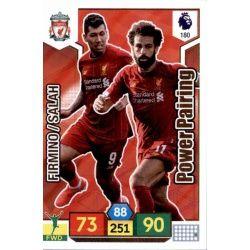Roberto Firmino - Mohamed Salah Liverpool 180 Adrenalyn XL Premier League 2019-20