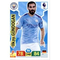 İlkay Gündoğan Manchester City 186 Adrenalyn XL Premier League 2019-20