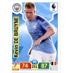 Kevin De Bruyne Manchester City 187 Adrenalyn XL Premier League 2019-20