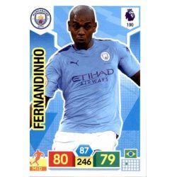 Fernandinho Manchester City 190 Adrenalyn XL Premier League 2019-20
