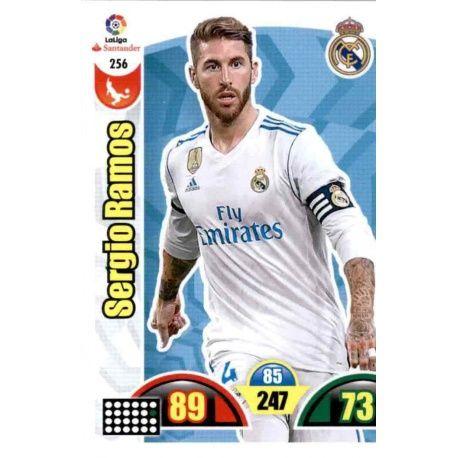 Sergio Ramos Real Madrid 256 Cards Básicas 2017-18