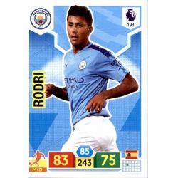 Rodri Manchester City 193 Adrenalyn XL Premier League 2019-20