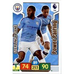 Leroy Sané - Raheem Sterling Manchester City 198 Adrenalyn XL Premier League 2019-20