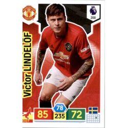 Victor Lindelöf Manchester United 200 Adrenalyn XL Premier League 2019-20