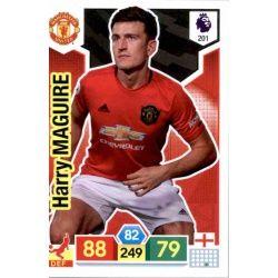 Harry Maguire Manchester United 201 Adrenalyn XL Premier League 2019-20