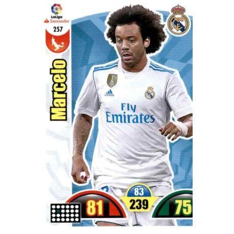 Marcelo Real Madrid 257 Cards Básicas 2017-18