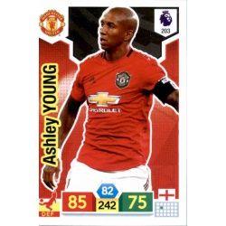 Ashley Young Manchester United 203 Adrenalyn XL Premier League 2019-20
