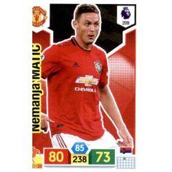 Nemanja Matić Manchester United 209 Adrenalyn XL Premier League 2019-20