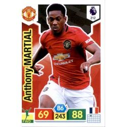 Anthony Martial Manchester United 212 Adrenalyn XL Premier League 2019-20