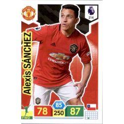 Alexis Sanchez Manchester United 214 Adrenalyn XL Premier League 2019-20