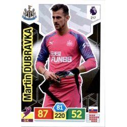 Martin Dúbravka Newcastle United 217 Adrenalyn XL Premier League 2019-20