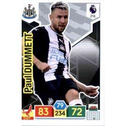 Paul Dummett Newcastle United 218 Adrenalyn XL Premier League 2019-20