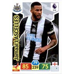 Jamaal Lascelles Newcastle United 219 Adrenalyn XL Premier League 2019-20