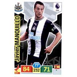 Javier Manquillo Newcastle United 220 Adrenalyn XL Premier League 2019-20
