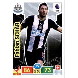 Fabian Schär Newcastle United 222 Adrenalyn XL Premier League 2019-20