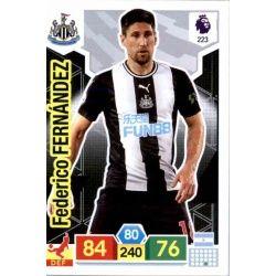 Federico Fernández Newcastle United 223 Adrenalyn XL Premier League 2019-20
