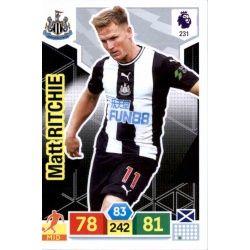 Matt Ritchie Newcastle United 231 Adrenalyn XL Premier League 2019-20