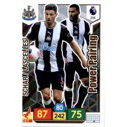 Fabian Schär - Jamaal Lascelles Newcastle United 234 Adrenalyn XL Premier League 2019-20