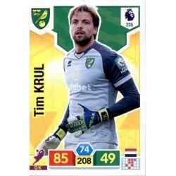 Tim Krul Norwich City 235 Adrenalyn XL Premier League 2019-20