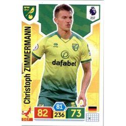 Christoph Zimmermann Norwich City 237 Adrenalyn XL Premier League 2019-20