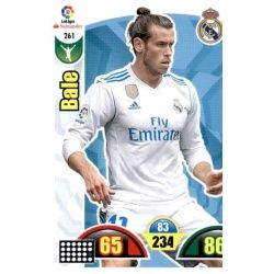Bale Real Madrid 261 Cards Básicas 2017-18